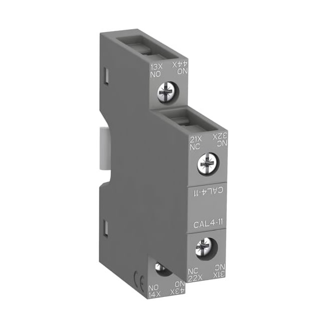 BLOCK AUX.CAL4-11, lateral para contactor AF09 a AF96, NF; 1 NA + 1 NC